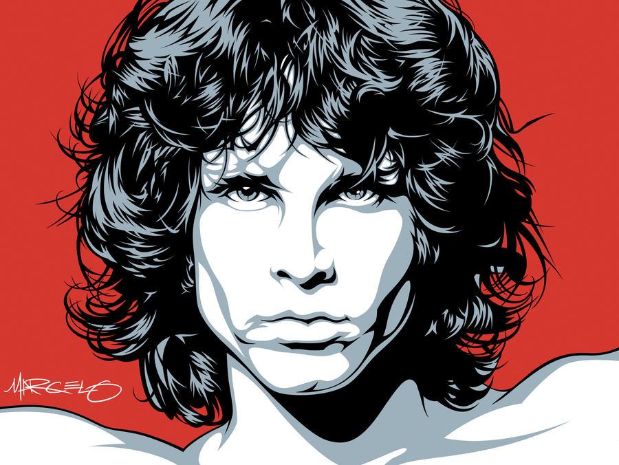 Big Jim Morrison Art by meltendo
