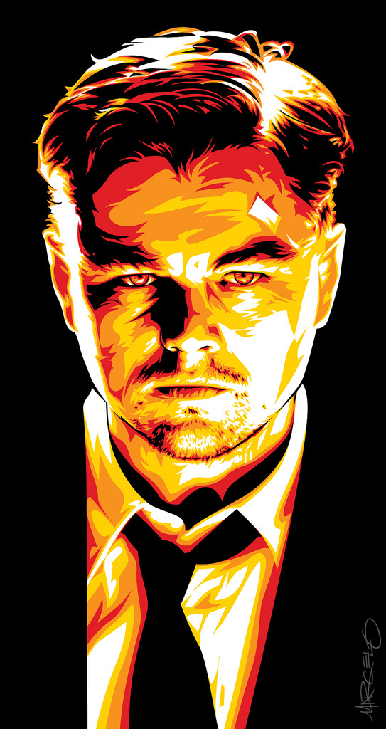 Leonardo Dicaprio Art by meltendo