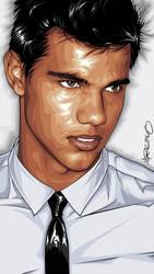 Taylor Lautner Art