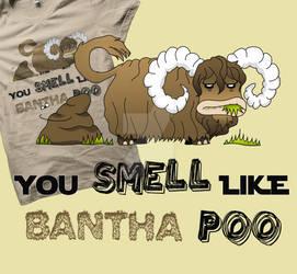 Bantha's hate by Pichins