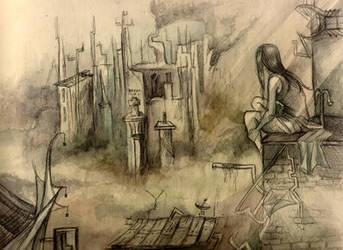 Tifa's Landscape by Seimei