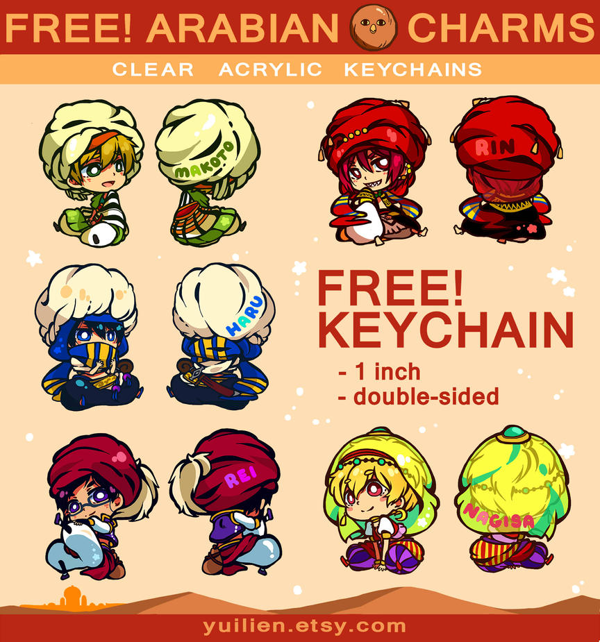 free charms