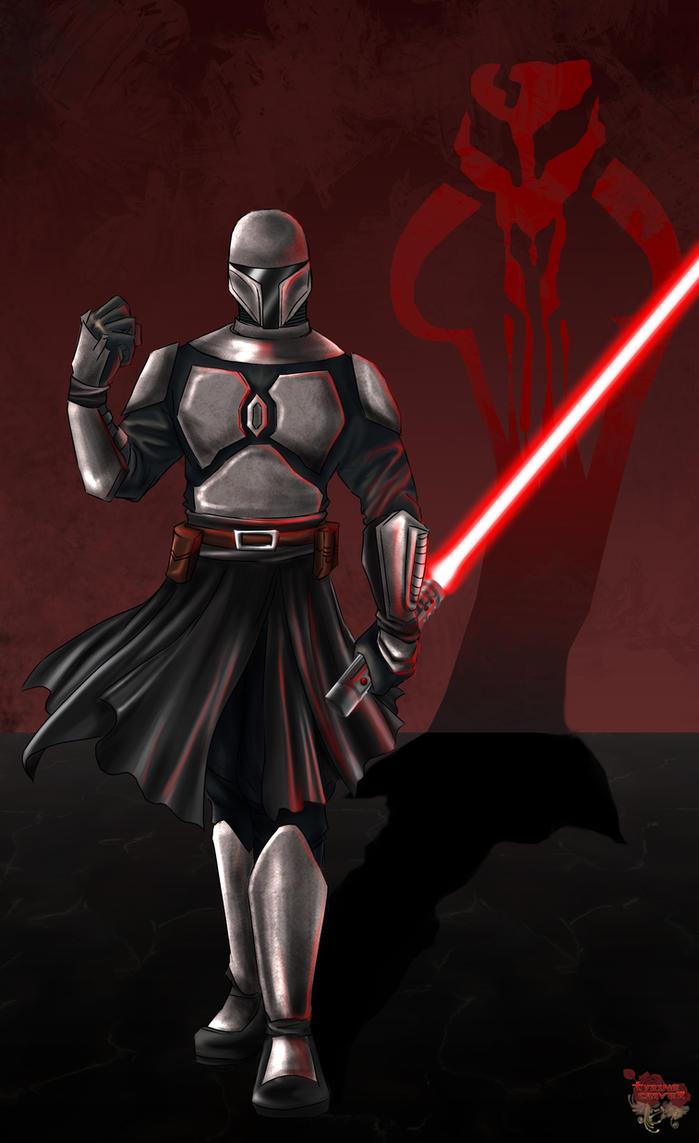 Mandalorian Sith by TyrineCarver