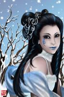 Goddess of Winter by TyrineCarver