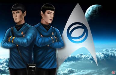 Spock(s) by TyrineCarver