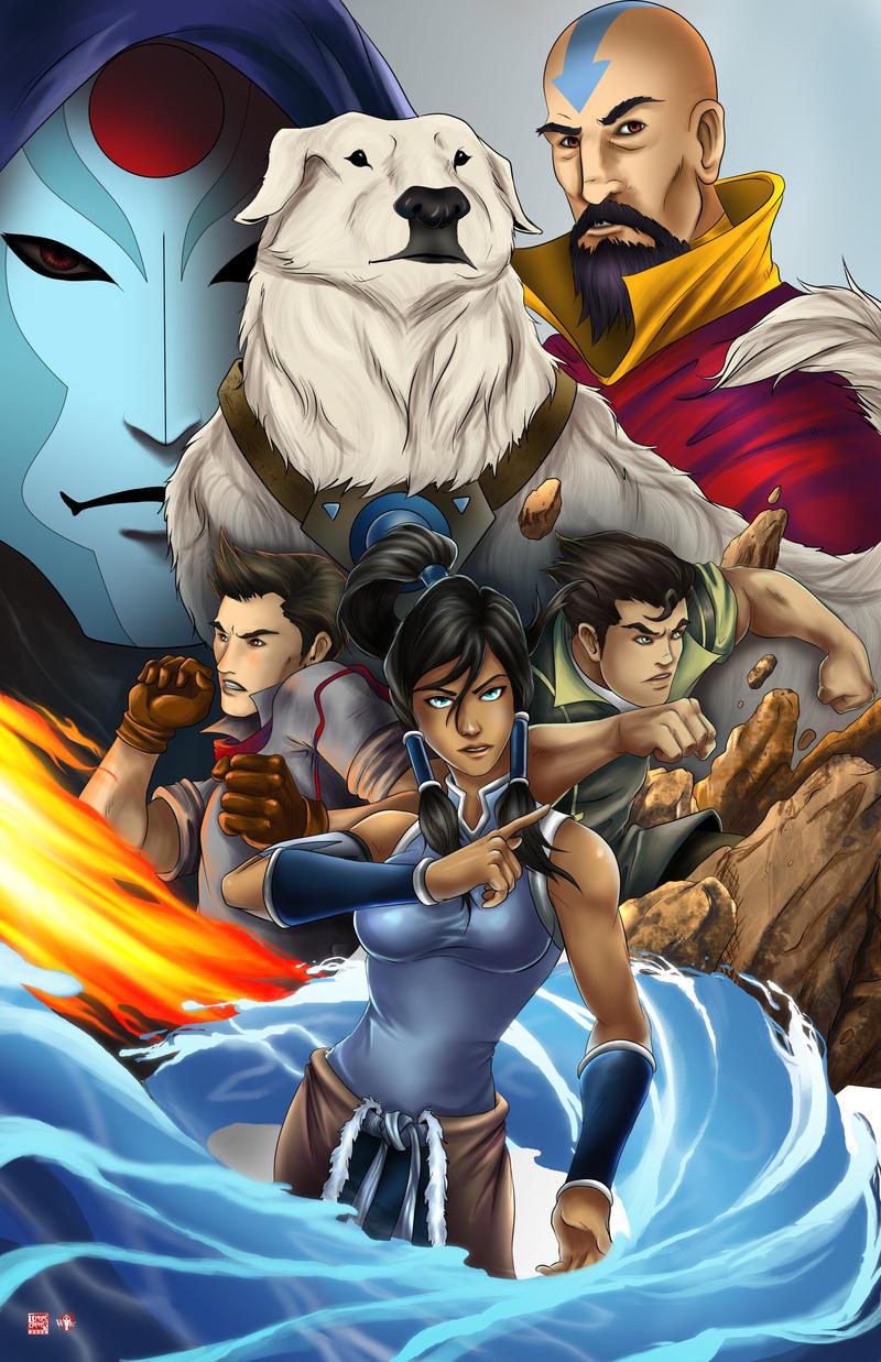 Legend of Korra by TyrineCarver on DeviantArt