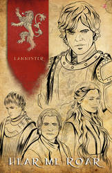 Game of Thrones - House Lannister by TyrineCarver