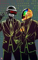 Daft Punk by TyrineCarver