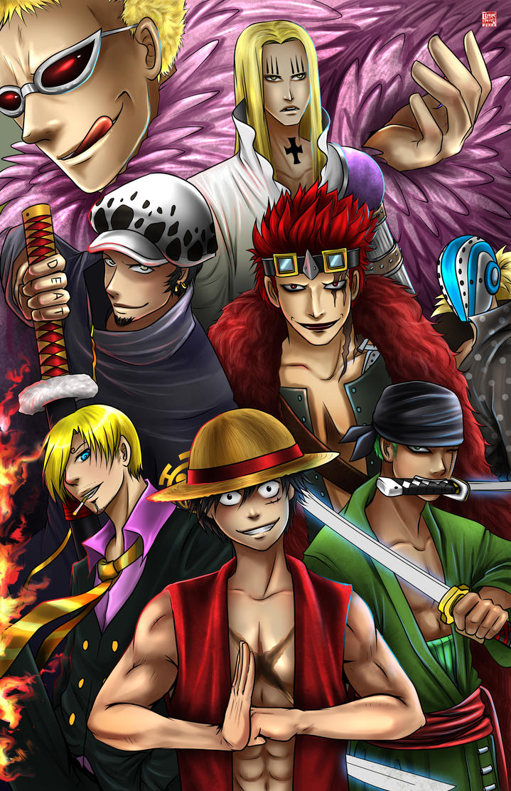 One piece new world by tyrinecarver on deviantart - One piece pictures new world ...