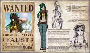 One Piece OC Sheet - Faust