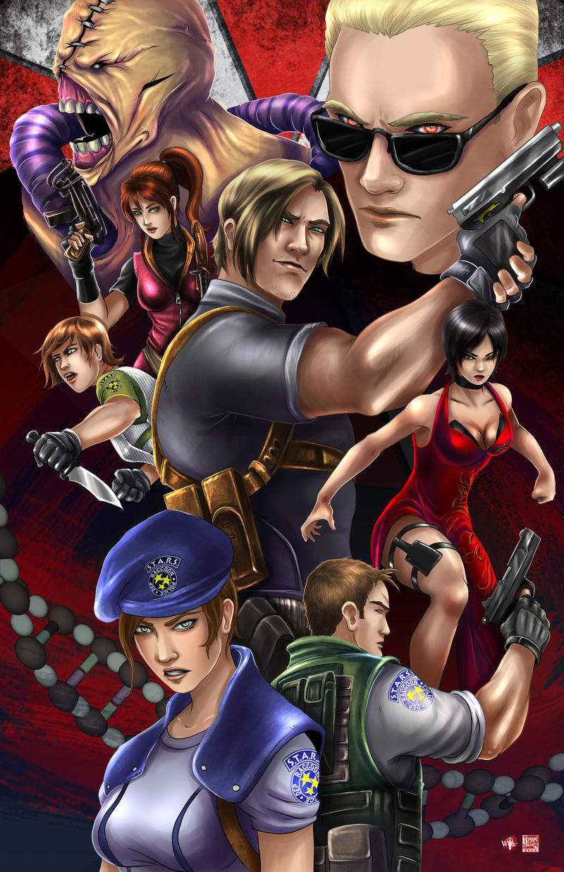 Resident Evil - Legacy by TyrineCarver