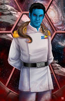 Grand Admiral Thrawn by TyrineCarver