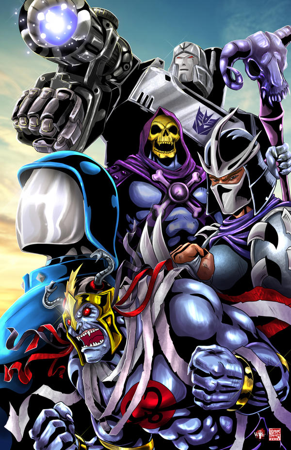 Alliance of 80's Villains by TyrineCarver on DeviantArt