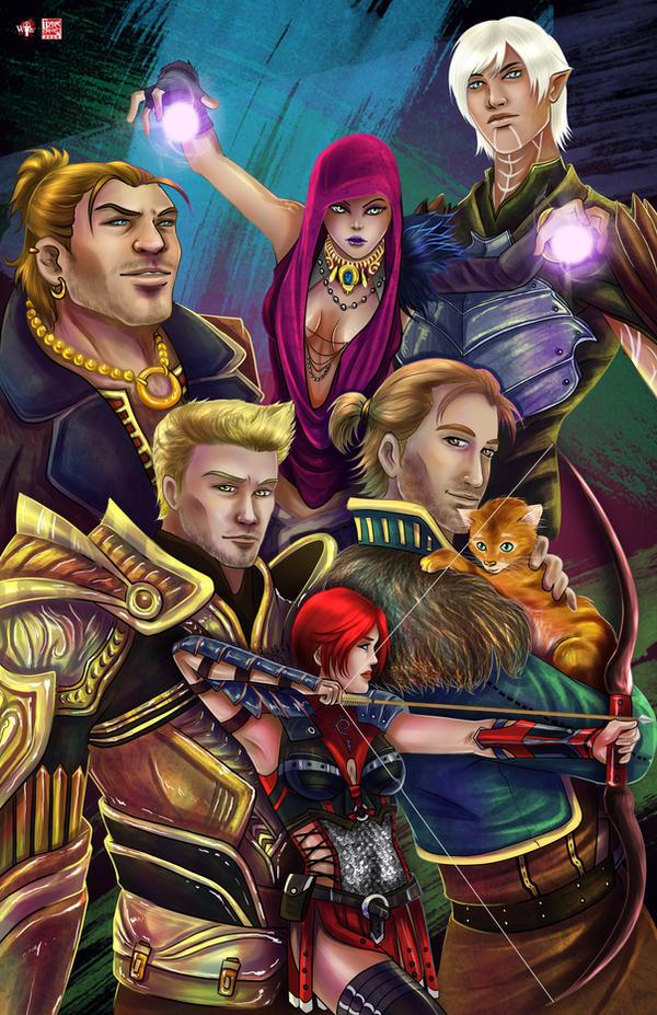 Dragon Age by TyrineCarver