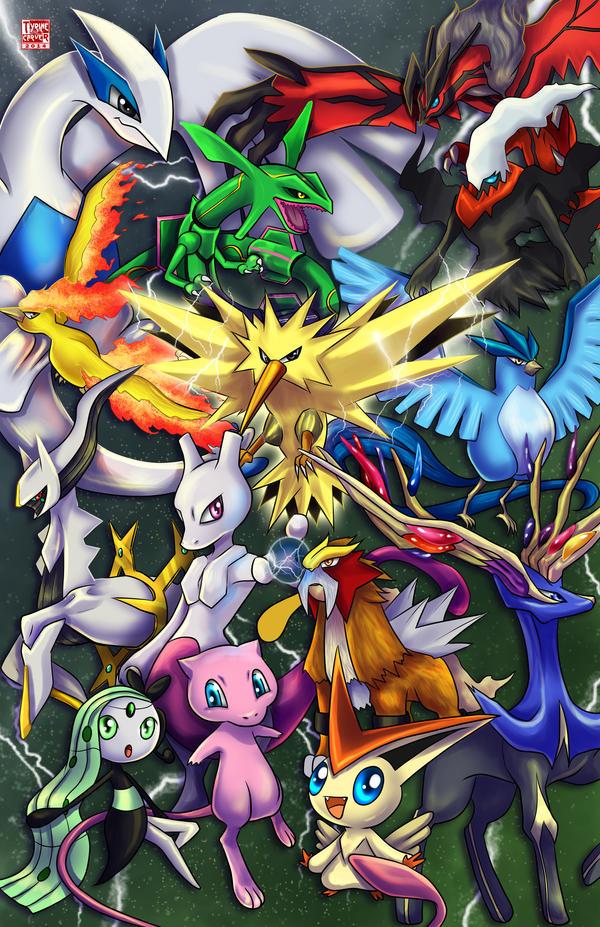 Pokemon - The Legendary by TyrineCarver