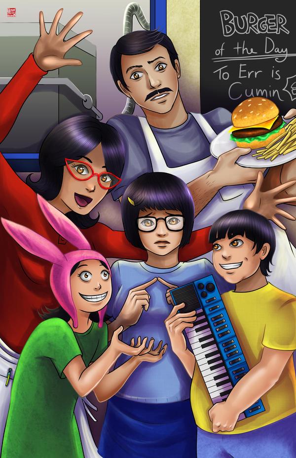 Bob's Burgers by TyrineCarver