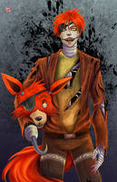Five Nights at Freddys - Foxy by TyrineCarver