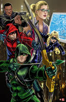 Team Arrow by TyrineCarver