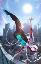 SpiderGwen by TyrineCarver
