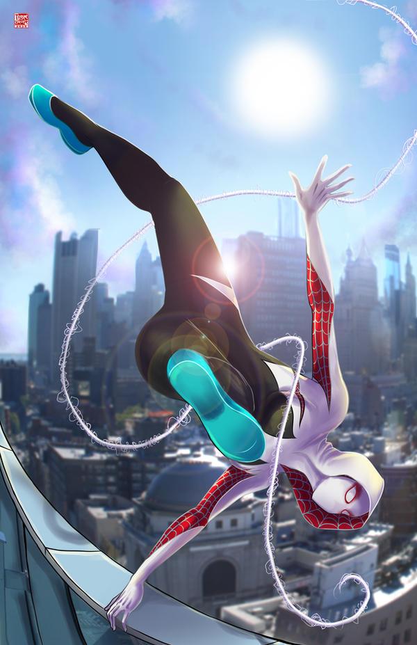 SpiderGwen by TyrineCarver on DeviantArt