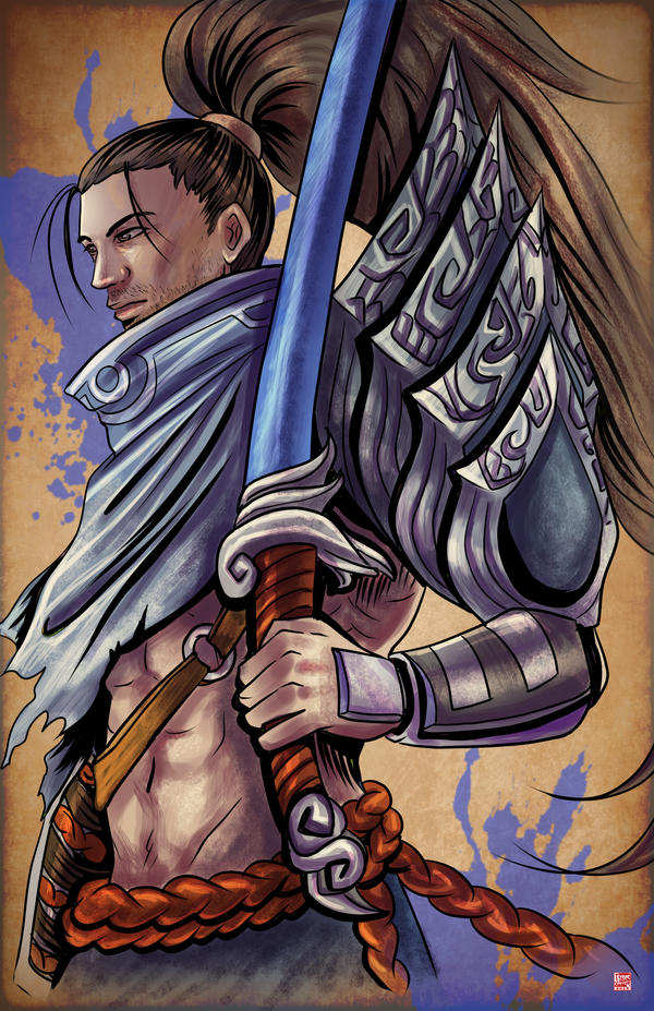 League of Legends - Yasuo by TyrineCarver