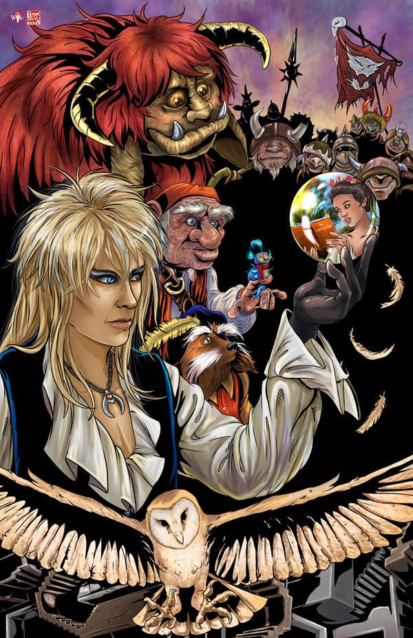 Labyrinth by TyrineCarver on DeviantArt Labyrinth 1986 Wallpaper