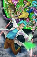 Rick and Morty for a Hundred Years by TyrineCarver