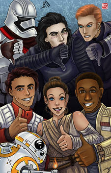 Star Wars VII - TFA Thumbs Up by TyrineCarver