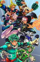 My Hero Academia by TyrineCarver