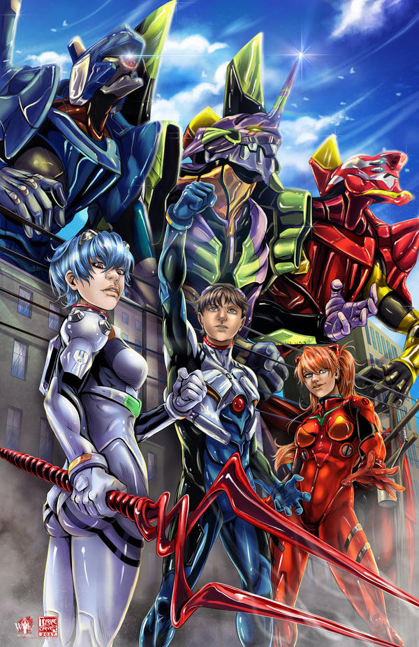 Neon Genesis Evangelion 2017 By Tyrinecarver On Deviantart