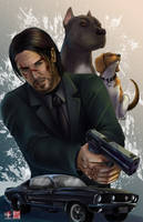 John Wick by TyrineCarver