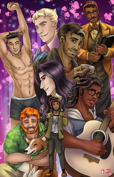 Dream Daddy by TyrineCarver