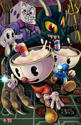 Cuphead by TyrineCarver