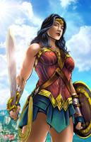 Wonder Woman by TyrineCarver