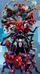 Spidermen 14x26 by TyrineCarver