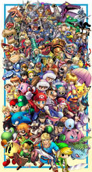 Super Smash Brothers Ultimate by TyrineCarver