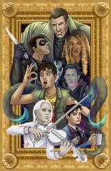 The Umbrella Academy by TyrineCarver