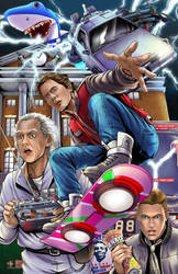 Back to the Future by TyrineCarver