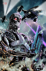 Terminator - T800 by TyrineCarver