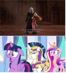 Ponies react to Kairi's kidnapping