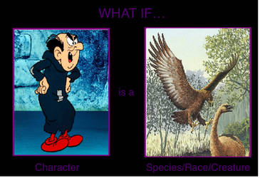 What if Gargamel is Haast's eagle? by mblairll