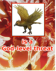 Haast's eagle is a God-level threat by mblairll