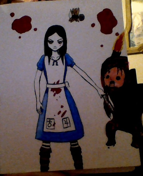 Alice: madness returns. Gotta fight them all by CosplayQueendom