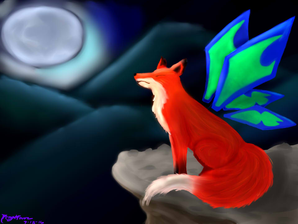 Butterfly Fox by demyx4ever