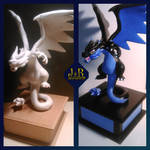 Mega Charizard X by xbounded