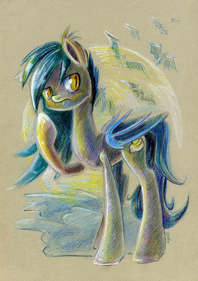 Batpony by Maytee