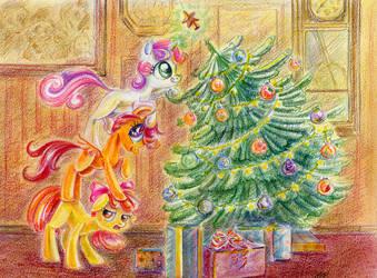 Christmas Tree by Maytee