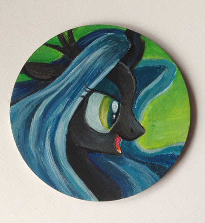 Queen Chrysalis by Maytee