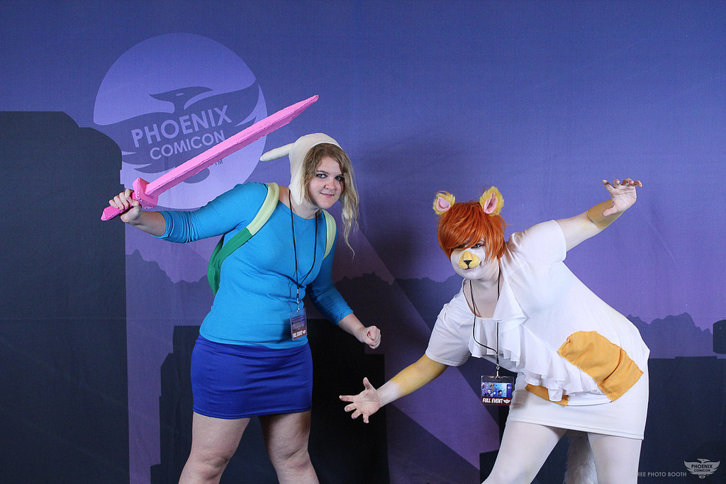 Fionna And Cake Cosplay By Phobiaphobe