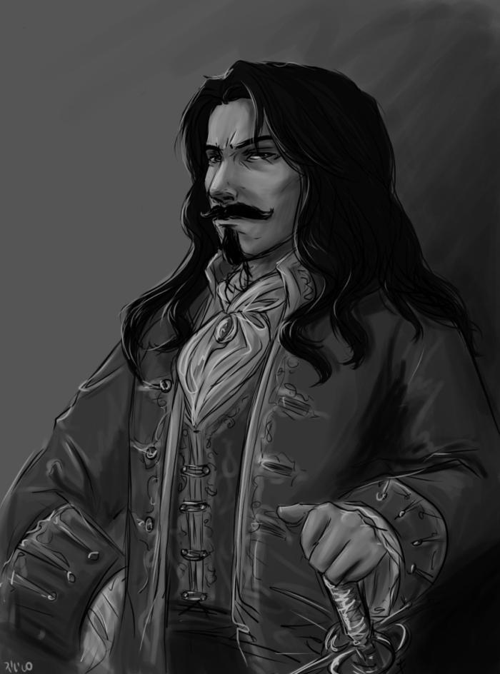 Captain - sketch by A6A7